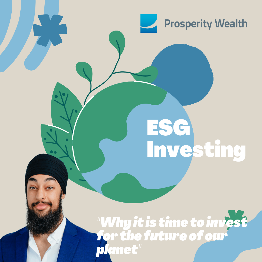 ESG-Investing: Why it is time to invest for the future of our planet